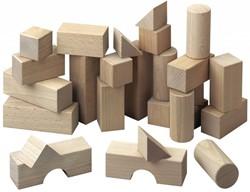 Haba  houten bouwblokken Basispakket (26 blokken)