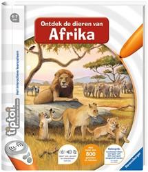 Ravensburger tiptoi® boek Ontdek de dieren in Afrika