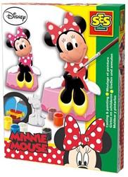 Ses  knutselspullen Figuren gieten minnie mouse