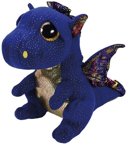 Ty Beanie Buddy Saffire Dragon 24cm