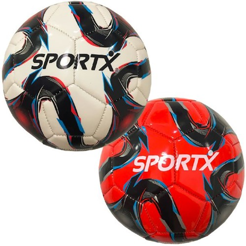 SportX Voetbal Flame rood/wit 330g