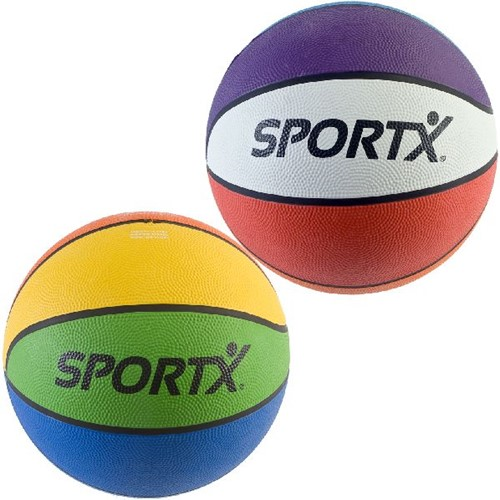 SportX Basketbal Multicolour ass