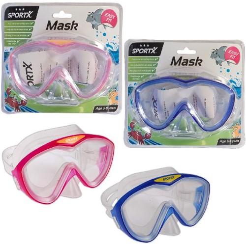 SportX Kids Zwemmasker *** 2 Ass