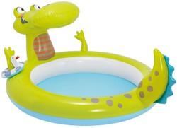 Intex opblaas zwembad Spuit Krokodil