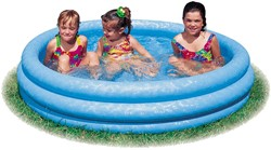 Intex opblaas zwembad Crystal Blue Pool 147x33cm