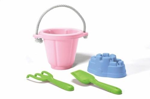 Green Toys - Zandspeelset Roze