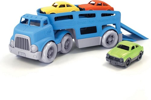 Green Toys - Autotransporter Blauw