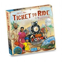 Days of Wonder bordspel spel Ticket to Ride - India en Zwitserland