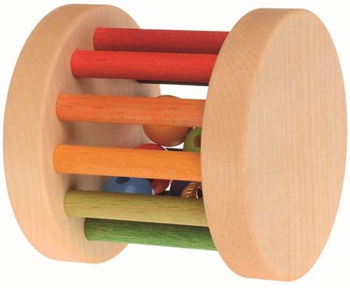 Grimm's houten rammelaar Regenboog