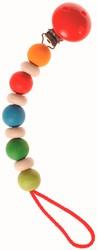 Grimm's houten speenketting regenboog