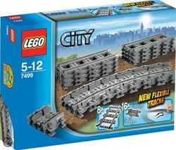 LEGO City Flexibele rails 7499
