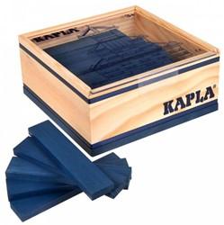 Kapla  houten bouwplankjes 40 Donkerblauw