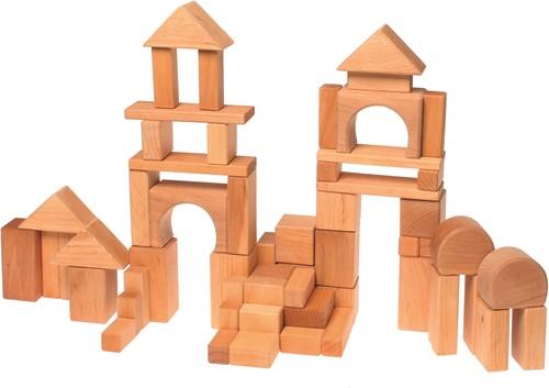 Grimm's 60 Natural Geo-Blocks