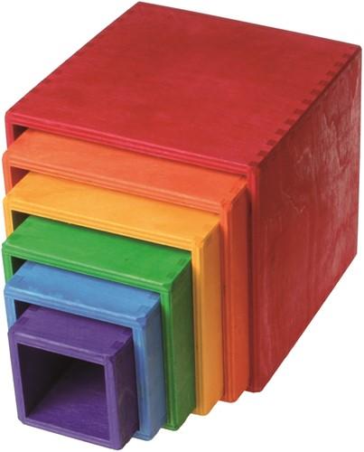 Grimm's set met dozen regenboog