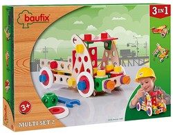 Baufix  houten constructie speelgoed Multi set 2, 95 delig