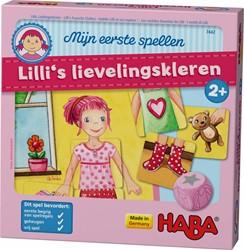 Haba  kinderspel Mijn eerste Lilli's lievelingskleren 7442
