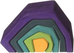 Grimm's houten blokken Aarde 10740