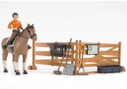Bruder  Agrarisch accessoires Bworld riding set - 62500