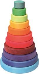 Grimm's grote gekleurde houten Stapeltoren