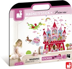 Janod  decoratie Muursticker princes magnetisch
