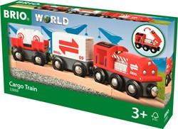 BRIO trein Rode goederentrein 33888