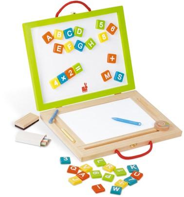 Janod Schoolbord - Speelkoffer 4-in-1