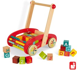 Janod Tatoo - ABC buggy (30-delig)