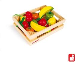 Janod Krat fruit (12-delig)