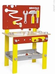 Janod Bricolo houten constructie speelgoed Redmaster werkbank