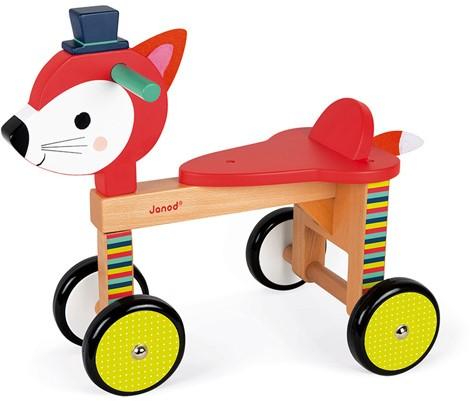 Baby Forest Loopwagen Vos