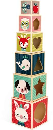Piramide Uit 6 Blokken - Baby Forest