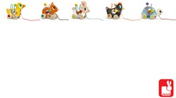 Janod - Mini looping dieren