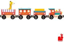 Janod  Story houten trein Circus