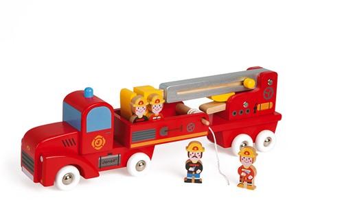 Reuze-Brandweerwagen Story