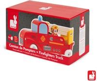 Janod Vrachtwagen - brandweer 2 brandweermannen-3