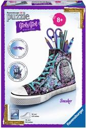 Ravensburger 3D Puzzel Girly Girl - Sneaker animal print