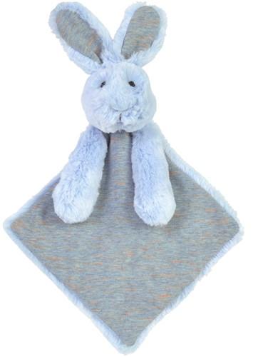 Happy Horse knuffeldoekje Blauw Konijn Rivoli - 27 cm