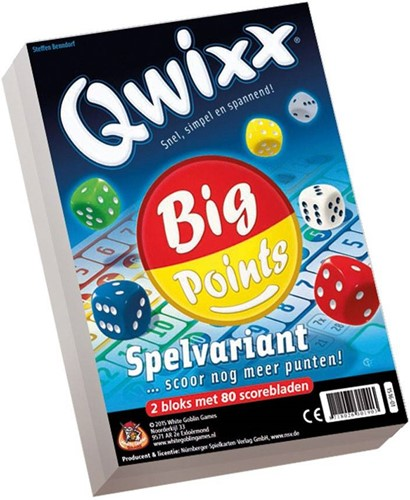 White Goblin Games Qwixx Big Point