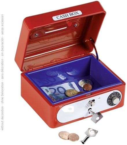 Goki Cash box with combination lock