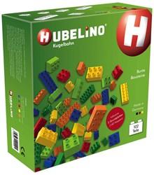 Hubelino  knikkerbaan set kleur 102-delig