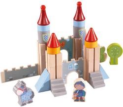 Haba  houten bouwblokken Klein ridderkasteel 301141