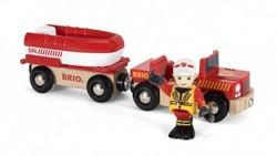 BRIO trein Brandweer boot 33859