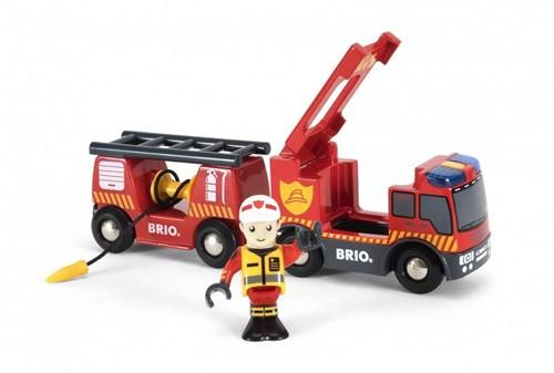 BRIO Brandweer locomotief - 33811