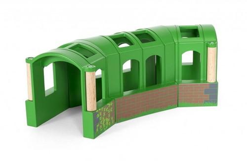 BRIO Groene flexibele tunnel - 33709