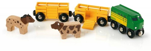 BRIO Trein met boerderijdieren - 33404