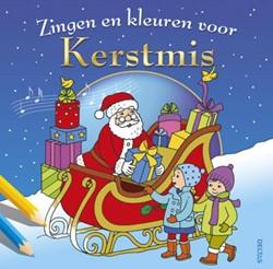 Deltas  kleurboek Zingen en kleuren voor kerst