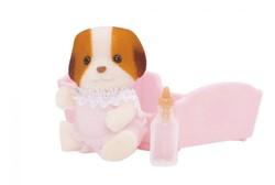 Sylvanian Families speel figuren Chiffon Dog Baby - 3416