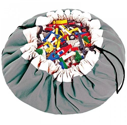 Play&Go  speelgoed opbergzak Grijs