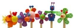 Simply  kleinspeelgoed Houten potlood dieren