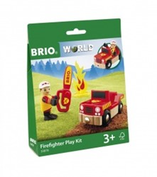BRIO trein Brandweerman Play Kit 33876